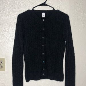 J Crew Wool and Cashmere Blend Cardigan
